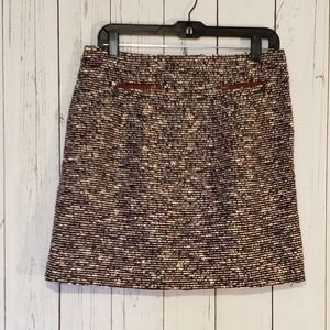 Loft Textured Skirt Size 6 NWT